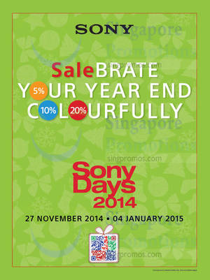 Featured image for Sony Smartphones, TVs, Cameras & More Year End Sale Offers 27 Nov 2014 – 4 Jan 2015