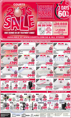 Featured image for Courts New Year 2015 Sale 3 – 5 Jan 2015