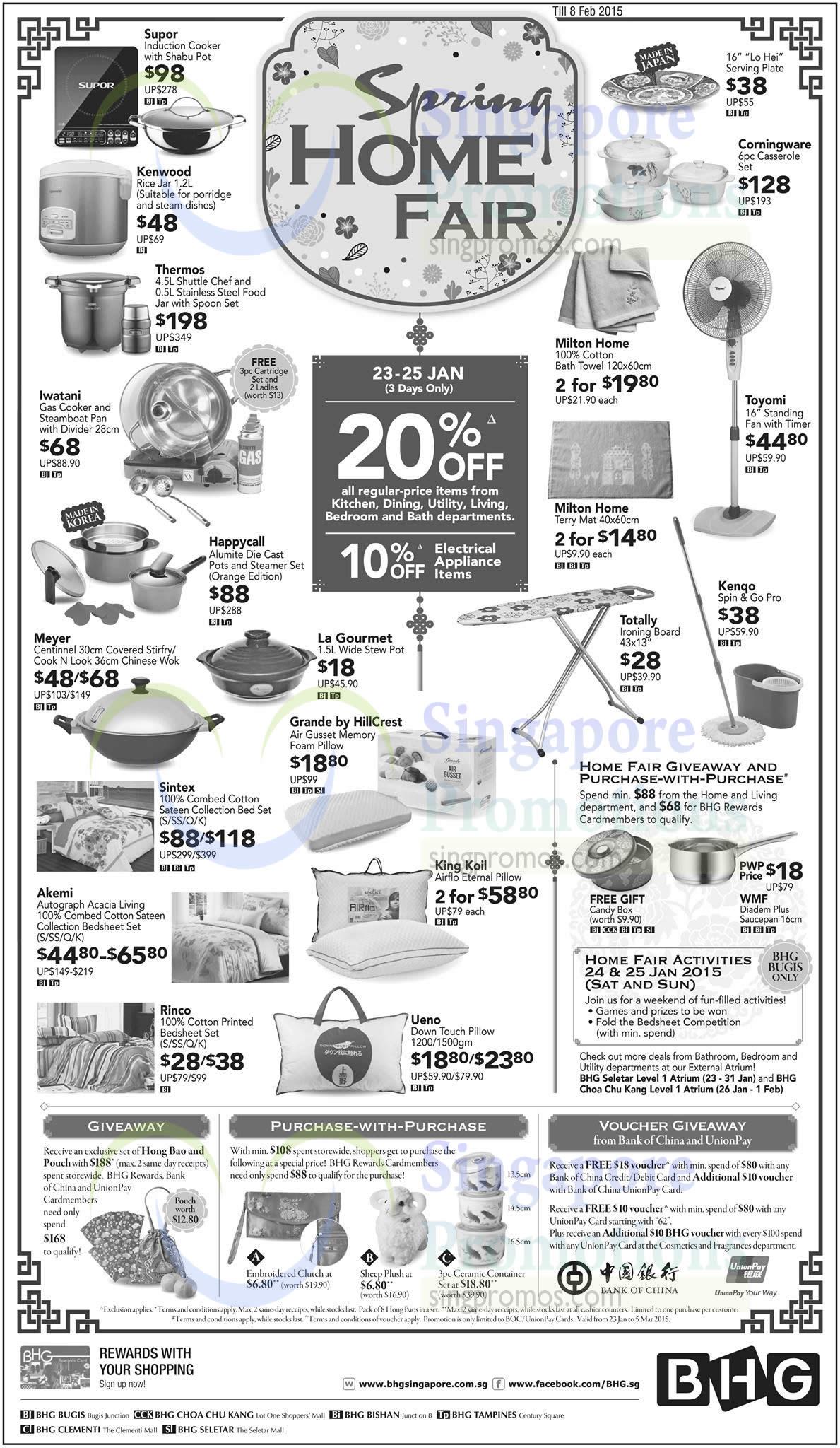 Bhg 23 Jan 2015 Bhg 20 Off Home Living Items 23 25