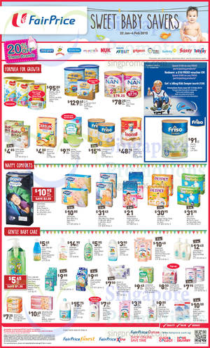 Featured image for NTUC Fairprice Abalone, Wines, Baby Savers & More Offers 22 Jan – 4 Feb 2015
