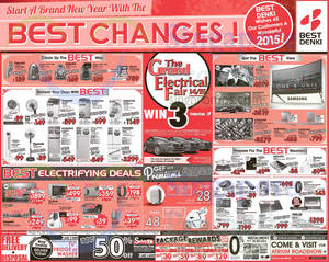 Featured image for Best Denki TV, Appliances & Other Electronics Offers 2 – 5 Jan 2015
