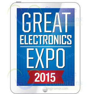 Featured image for Great Electronics Expo @ Singapore Expo 16 – 18 Jan 2015