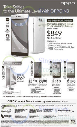 Featured image for Oppo Smartphones No Contract Offers 17 Jan 2015