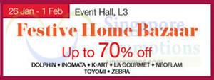 Featured image for Isetan Festive Home Bazaar @ Nex 26 Jan – 1 Feb 2015