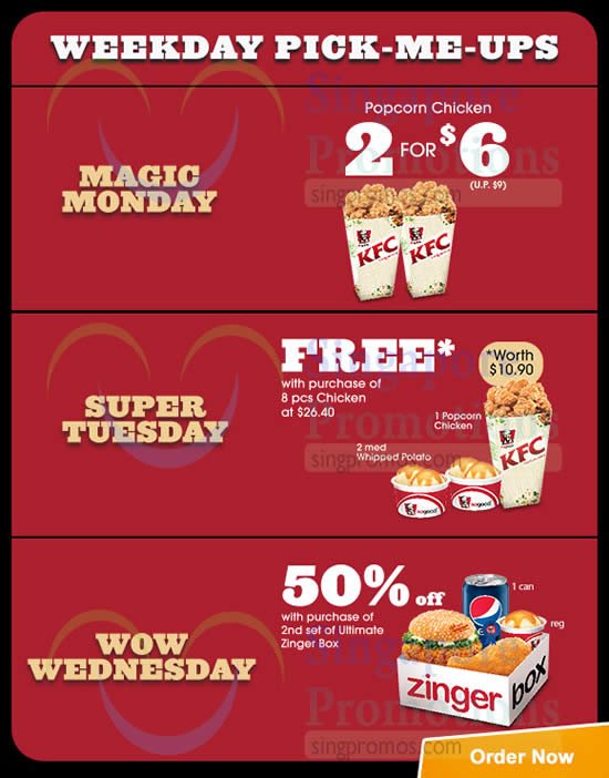KFC Delivery 5 Jan 2015