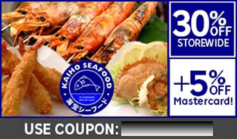 Kaiho Seafood 20 Jan 2015