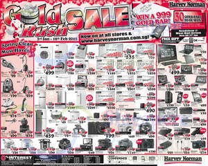 Featured image for Harvey Norman Electronics, IT, Appliances & Other Offers 10 – 16 Jan 2015