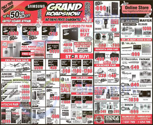 Featured image for Mega Discount Store TVs, Gas Hobs & Other Appliances Offers 17 Jan 2015