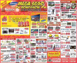 Featured image for Mega Discount Store TVs, Gas Hobs & Other Appliances Offers 24 Jan 2015