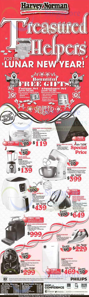 Featured image for Harvey Norman Electronics, IT, Appliances & Other Offers 24 – 30 Jan 2015