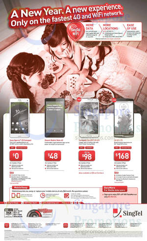 Featured image for Singtel Smartphones, Tablets, Broadband & Mio TV Offers 3 – 9 Jan 2015