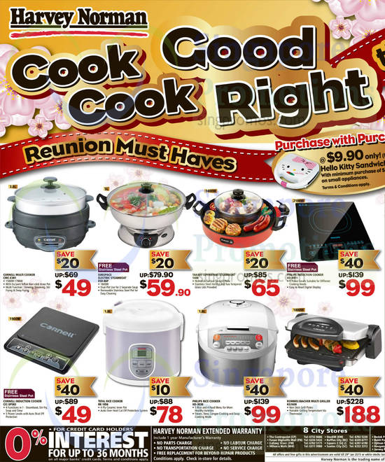 EuropAce ESB-86P Steamboat, Tefal RK-1056 Rice Cooker, Takahi 1488 Steamboat, Philips HD-3038 Rice Cooker, Rommelsbacher KG1600 Multi Griller, Philips HD-4911 Induction Cooker