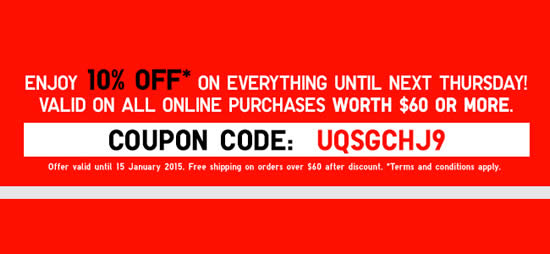 How to use a Uniqlo coupon Sign up for the Uniqlo email list to receive exclusive weekly deals. Shop the