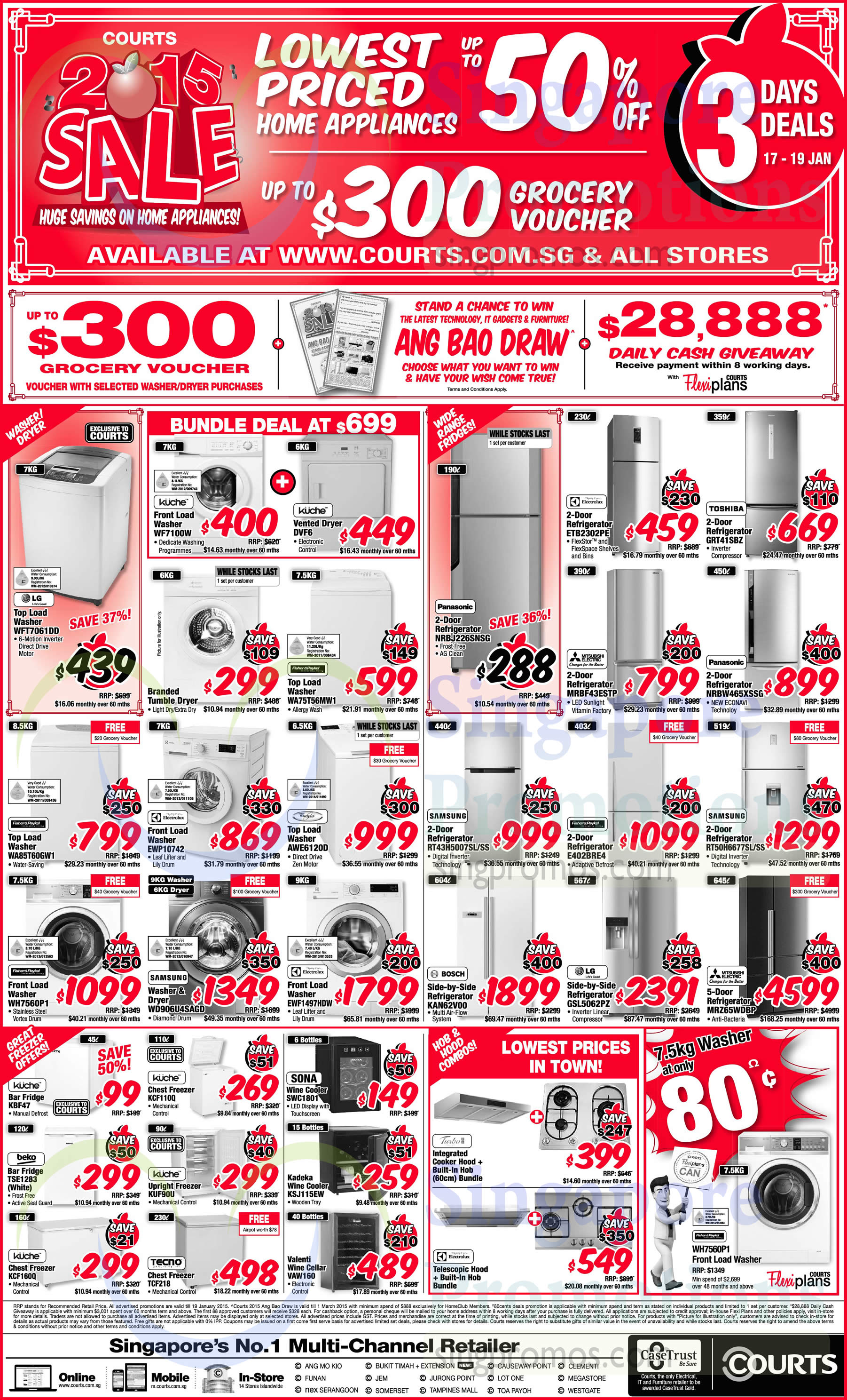 Featured image for Courts 2015 Sale Offers 17 - 19 Jan 2015