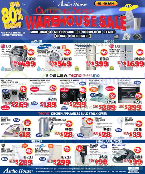 Kitchen Appliances Singapore Sales
