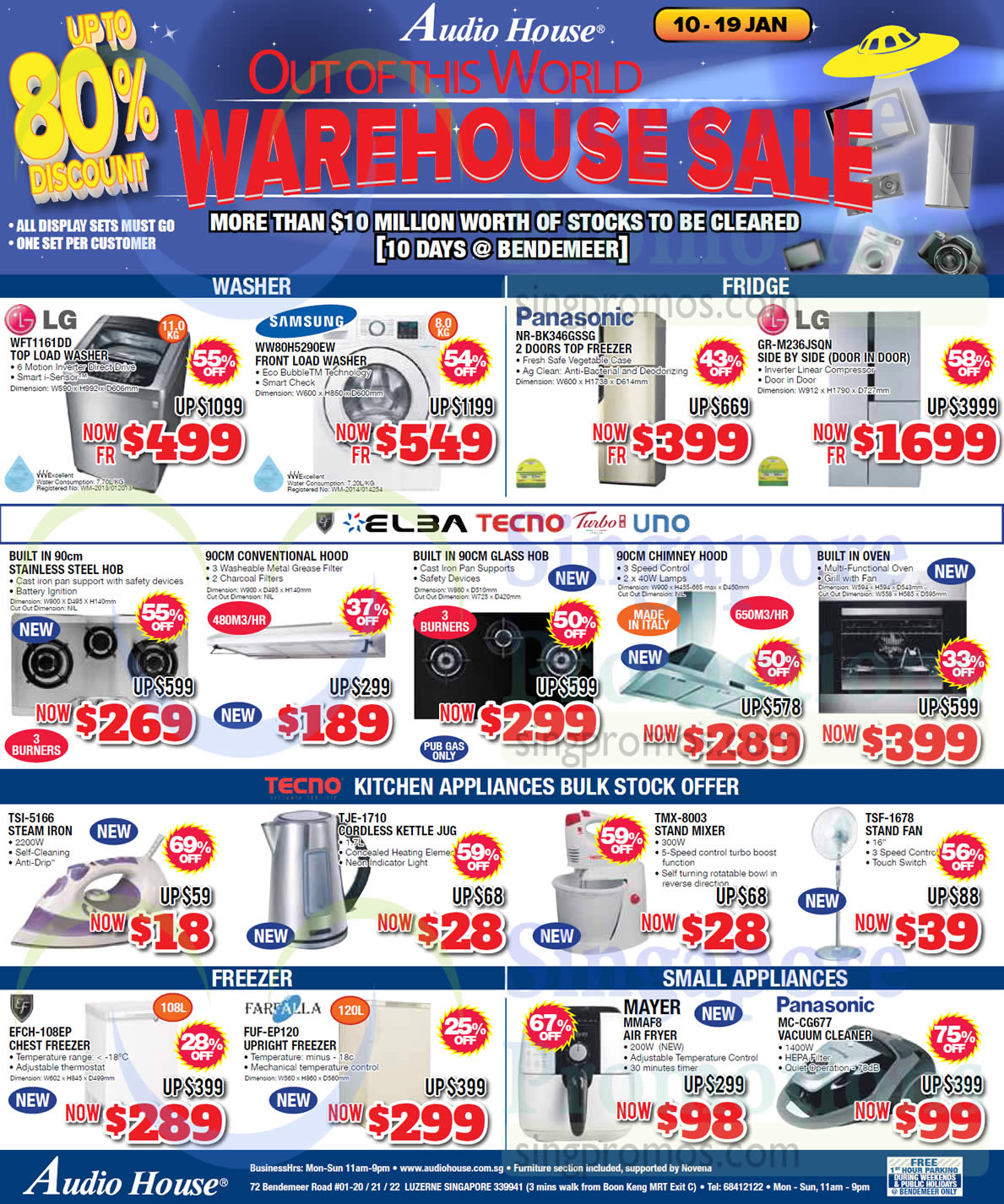 audio house electronics tv notebooks appliances offers bendemeer 10 jan 2 feb 2015. Black Bedroom Furniture Sets. Home Design Ideas