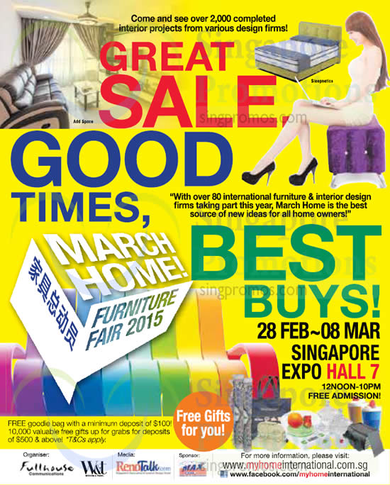 27 Feb Free Goodie Bags