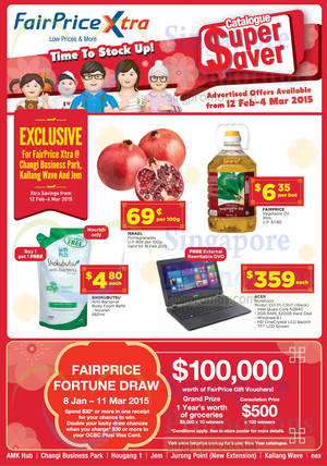 Featured image for NTUC Fairprice Super Saver Catalogue Offers 12 Feb – 4 Mar 2015