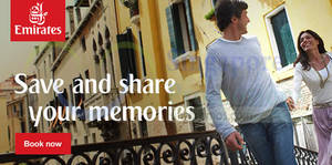 Featured image for Emirates From $478 Promo Fares 16 – 26 Feb 2015