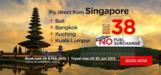 Fly Direct From Singapore From 38 All In
