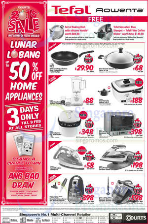 Featured image for Courts Lunar Lobang Sale Offers 7 – 9 Feb 2015