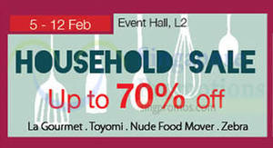 Featured image for Isetan Household Sale @ Tampines Mall 5 – 12 Feb 2015
