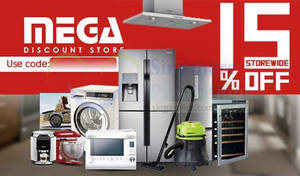 Featured image for Mega Discount Store 15% OFF (NO Min Spend) 1-Day Coupon Code 9 Feb 2016