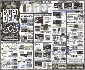 Featured image for Mega Discount Store TVs, Gas Hobs & Other Appliances Offers 28 Feb – 1 Mar 2015