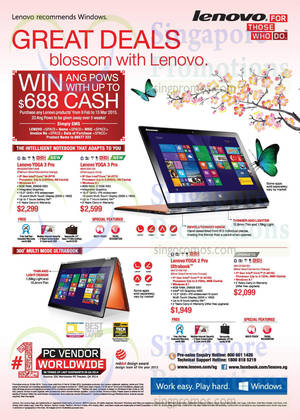 Featured image for Lenovo Notebooks & Desktop PC Offers 13 Feb – 15 Mar 2015