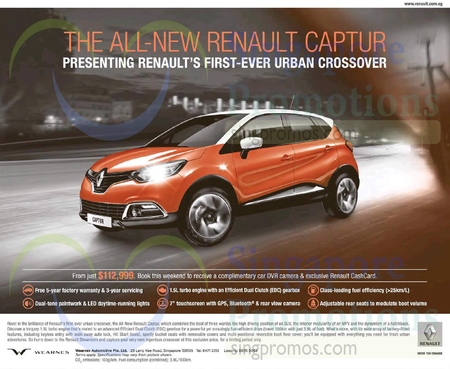 renault 21 feb 2015 renault captur offer 21 feb 2015. Black Bedroom Furniture Sets. Home Design Ideas