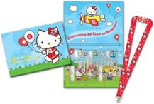 SG50 Hello Kitty MyStamp Folder and Lanyard Set