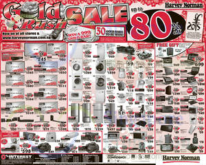 Featured image for Harvey Norman Electronics, IT, Appliances & Other Offers 7 – 13 Feb 2015