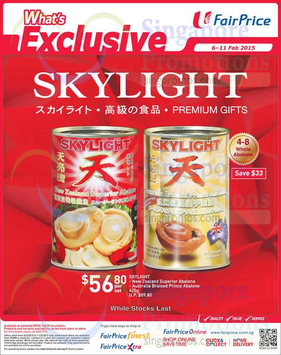 (Till 11 Feb) Skylight Abalones