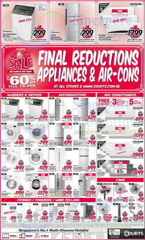 Featured image for Courts Lunar Lobang Final Reductions Offers 14 – 16 Feb 2015