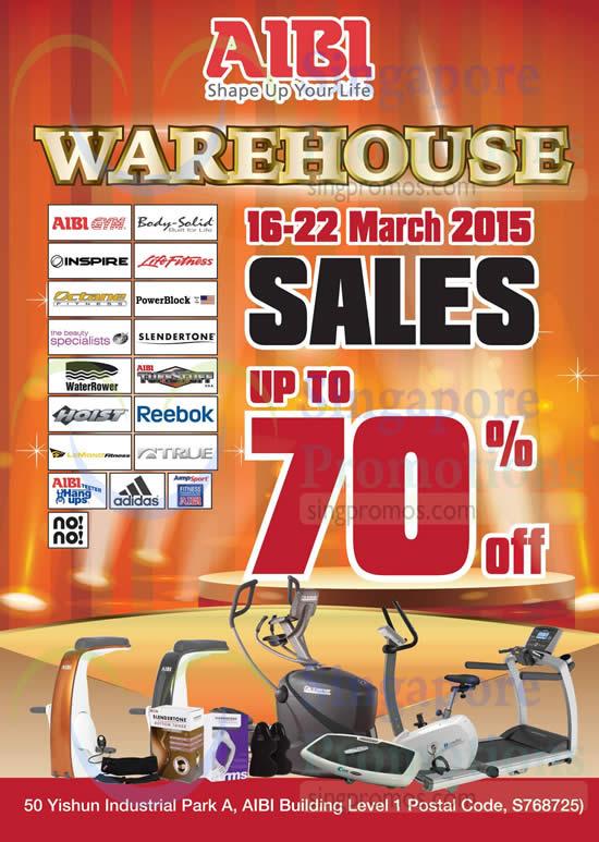 Aibi Warehouse Sale 10 Mar 2015