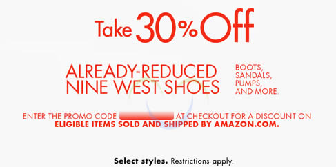 Like Nine West coupons? Try these...
