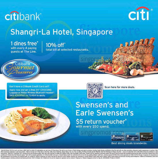 Citibank Dining Offers 22 Mar 2015