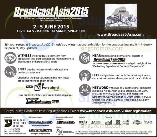 CommunicAsia 30 Mar 2015