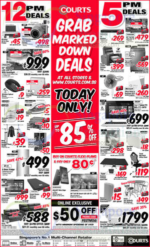 Featured image for Courts Up To 85% Off 1-Day Offers 3 Mar 2015