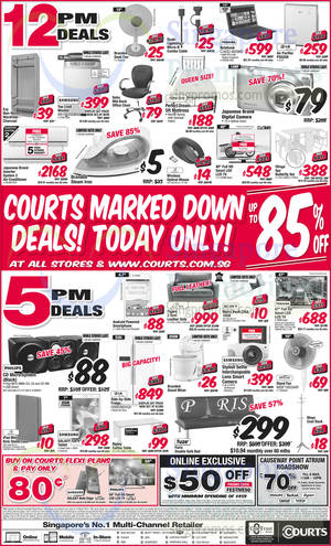 Featured image for Courts Up To 85% Off 1-Day Offers 4 Mar 2015