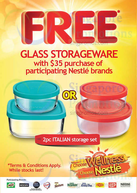 Free Glass Storageware