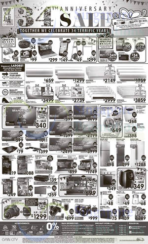 Featured image for Gain City Electronics, TVs, Washers, Digital Cameras & Other Offers 14 Mar 2015