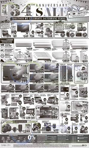 Featured image for Gain City Electronics, TVs, Washers, Digital Cameras & Other Offers 21 Mar 2015