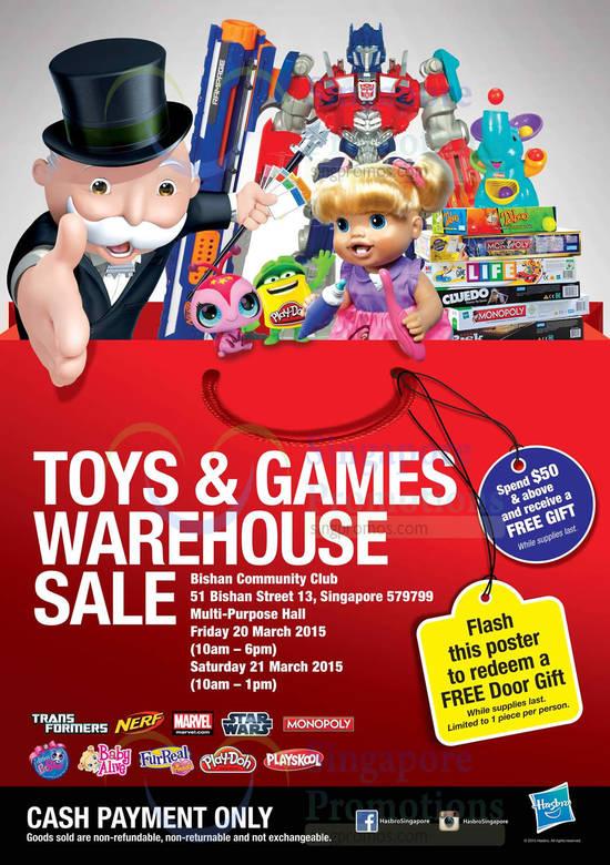 Hasbro Warehouse Sale 2015