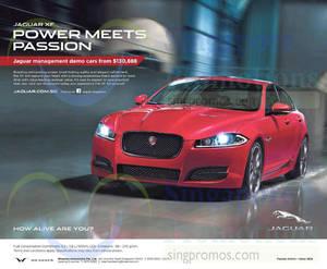 Featured image for Jaguar XF Management Demo Cars Offer 21 Mar 2015