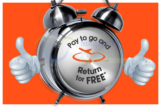 how to get jetstar free return