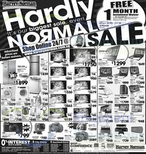 Featured image for Harvey Norman Electronics, IT, Appliances & Other Offers 7 – 13 Mar 2015