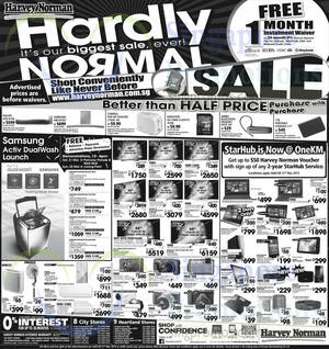 Featured image for Harvey Norman Electronics, IT, Appliances & Other Offers 21 – 27 Mar 2015