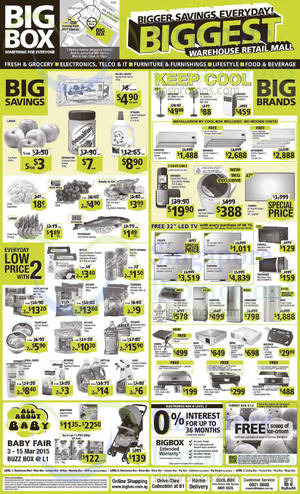 Featured image for Big Box Electronics, Groceries, Furnitures & Other Offers 7 – 13 Mar 2015