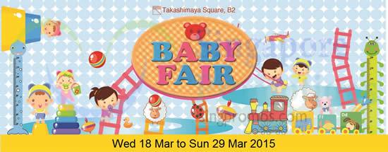 Takashimaya Baby Fair 4 Mar 2015